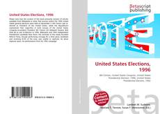Bookcover of United States Elections, 1996
