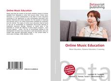 Bookcover of Online Music Education