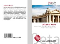 Bookcover of Universal Power