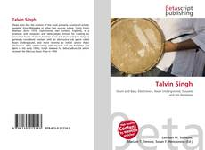 Bookcover of Talvin Singh