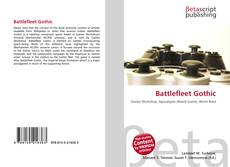 Capa do livro de Battlefleet Gothic