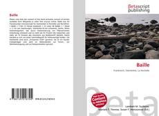 Buchcover von Baille
