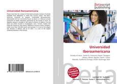 Copertina di Universidad Iberoamericana
