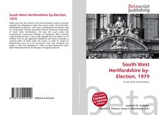 Bookcover of South West Hertfordshire by-Election, 1979