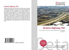 Ontario Highway 102 kitap kapağı