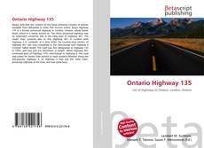 Buchcover von Ontario Highway 135