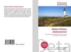 Borítókép a  Robert Wilson (Astronomer) - hoz
