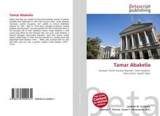 Bookcover of Tamar Abakelia