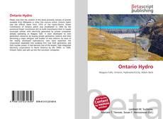 Bookcover of Ontario Hydro