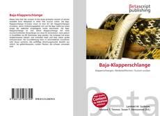 Capa do livro de Baja-Klapperschlange