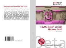 Обложка Southampton Council Election, 2010