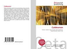 Bookcover of Caldesmon