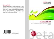 Bookcover of Samiha Khalil