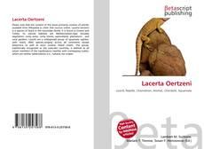 Borítókép a  Lacerta Oertzeni - hoz