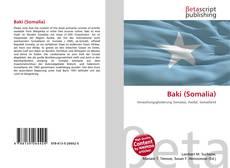 Обложка Baki (Somalia)