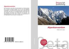 Bookcover of Alpenkonvention