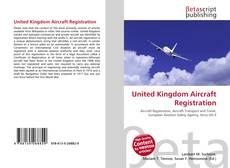 Buchcover von United Kingdom Aircraft Registration