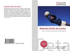 Capa do livro de Roberto Emílio da Cunha
