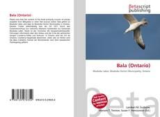 Bala (Ontario) kitap kapağı