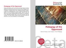 Bookcover of Pedagogy of the Oppressed