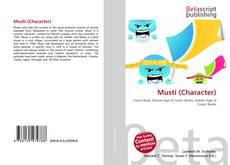 Musti (Character) kitap kapağı