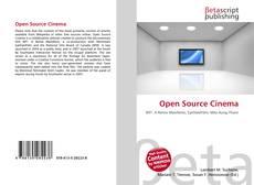 Bookcover of Open Source Cinema