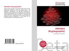 Bookcover of Alphabet (Kryptographie)