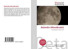 Couverture de Balandin (Mondkrater)