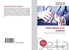 Bookcover of Peder Nikolai Leier Jacobsen