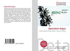 Capa do livro de Operation Argus