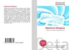 Bookcover of Alphonse Mingana