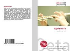 Bookcover of Alphorn-Fa