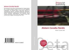 Buchcover von Alstom Coradia Nordic