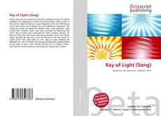 Bookcover of Ray of Light (Song)