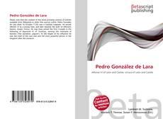 Buchcover von Pedro González de Lara