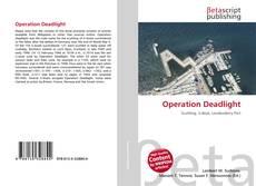 Capa do livro de Operation Deadlight