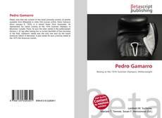 Capa do livro de Pedro Gamarro
