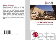 Portada del libro de Balfour-Deklaration