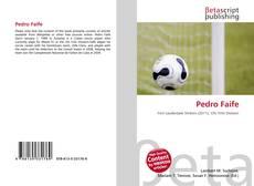 Portada del libro de Pedro Faife