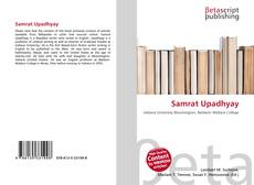 Bookcover of Samrat Upadhyay