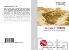 Capa do livro de Operation FRICTION