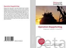 Capa do livro de Operation Doppelschlag