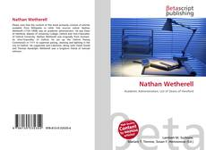 Bookcover of Nathan Wetherell