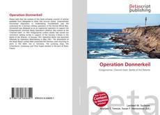 Capa do livro de Operation Donnerkeil