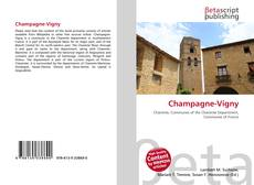 Bookcover of Champagne-Vigny