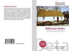 Обложка Balkhauser Kotten