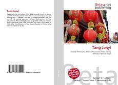 Bookcover of Tang Junyi