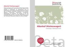 Обложка Altenhof (Hückeswagen)