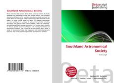 Bookcover of Southland Astronomical Society