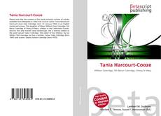 Bookcover of Tania Harcourt-Cooze